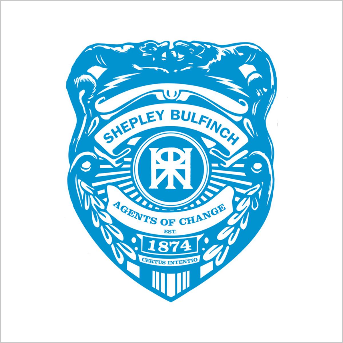 Shepley Bulfinch Agents of Change Badge