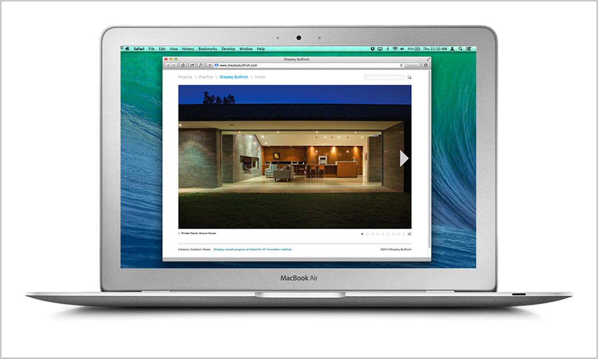 Shepley Bulfinch Website